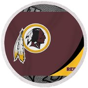 Washington Redskins Round Beach Towel