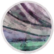 Water World 3 Round Beach Towel