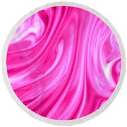 Waves Round Beach Towel