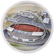 Wembley Stadium Round Beach Towel