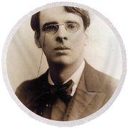 William Butler Yeats (1865-1939) Round Beach Towel