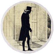 William White (1748-1836) Round Beach Towel
