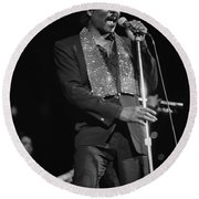 Wilson Pickett Round Beach Towel