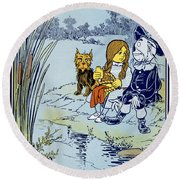 Wizard Of Oz, 1900 Round Beach Towel