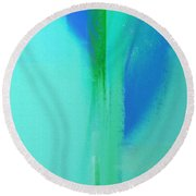 Young And In Love Round Beach Towel