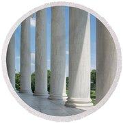Thomas Jefferson Memorial Round Beach Towel