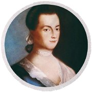 Abigail Adams (1744-1818) Round Beach Towel