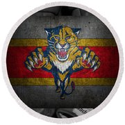 Florida Panthers Round Beach Towel