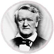 Richard Wagner (1813-1883) Round Beach Towel