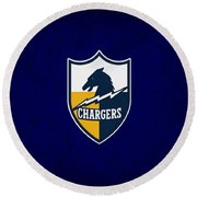 San Diego Chargers Round Beach Towel