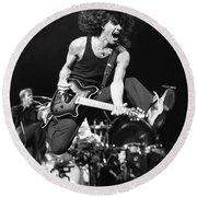 Van Halen - Eddie Van Halen Round Beach Towel
