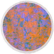 1061 Abstract Thought Round Beach Towel