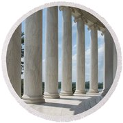Thomas Jefferson Memorial Round Beach Towel