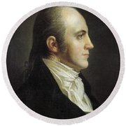 Aaron Burr (1756-1836) Round Beach Towel