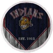 Cleveland Indians Round Beach Towel