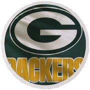 Green Bay Packers Uniform Round Beach Towel