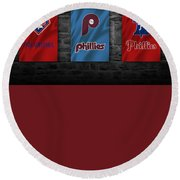Philadelphia Phillies Round Beach Towel