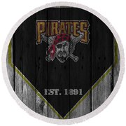Pittsburgh Pirates Round Beach Towel