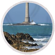 110111p215 Round Beach Towel