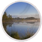 110307p101 Round Beach Towel