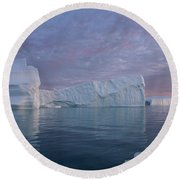 110613p177 Round Beach Towel
