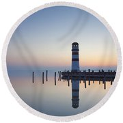 110613p194 Round Beach Towel
