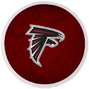 Atlanta Falcons Round Beach Towel