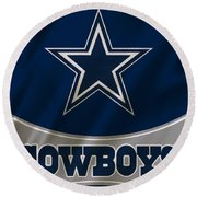 Dallas Cowboys Uniform Round Beach Towel