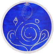 16 Ganesh Round Beach Towel