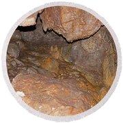 Jewel Cave Jewel Cave National Monument Round Beach Towel