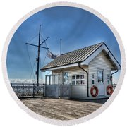 Penarth Pier Round Beach Towel