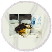 Petey Round Beach Towel