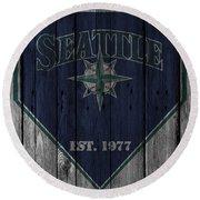 Seattle Mariners Round Beach Towel