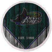 Tampa Bay Rays Round Beach Towel