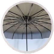 Umbrella Round Beach Towel