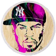 50 Cent Collection Round Beach Towel
