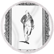 George IIi (1738-1820) Round Beach Towel