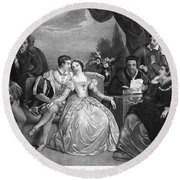 Lady Jane Grey (1537-1554) Round Beach Towel