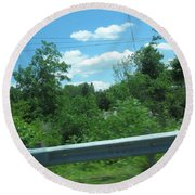 Perfect Angle Photos From Moving Car Windows Closed Navinjoshi  Rights Managed Images Graphic Design Round Beach Towel