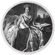 Victoria (1819-1901) Round Beach Towel