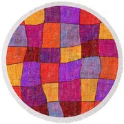 1343 Abstract Thought Round Beach Towel