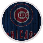 Chicago Cubs Round Beach Towel