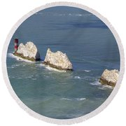 Isle Of Wight Round Beach Towel