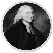 John Wesley (1703-1791) Round Beach Towel