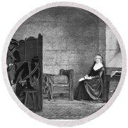 Marie Antoinette (1755-1793) Round Beach Towel