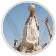 Badr Round Beach Towel