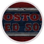 Boston Red Sox Round Beach Towel