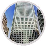 Canary Wharf Tower Round Beach Towel
