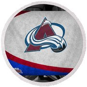 Colorado Avalanche Round Beach Towel