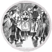 Edward Vii (1841-1910) Round Beach Towel